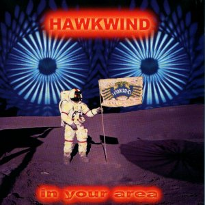 Hawkwind - In Your Area CD (album) cover