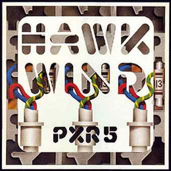 P.X.R. 5 by HAWKWIND album cover