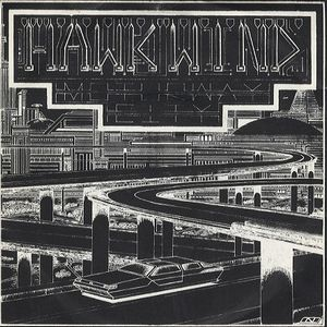 Hawkwind Motorway City album cover
