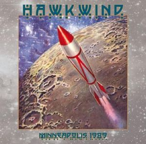 Hawkwind Minneapolis 1989 album cover