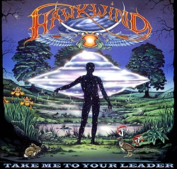Hawkwind Take Me To Your Leader album cover