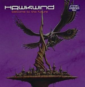 Hawkwind - Welcome to The Future CD (album) cover