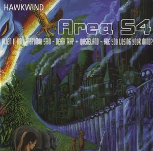 Hawkwind Area 54 EP album cover