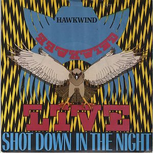 Hawkwind Shot Down In The Night (live) album cover