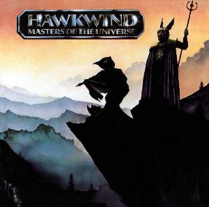 Hawkwind Masters of the Universe album cover