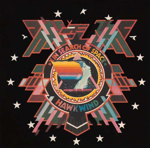 Hawkwind - X In Search Of Space CD (album) cover