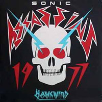 Hawkwind Sonic Assassins (ep)  album cover