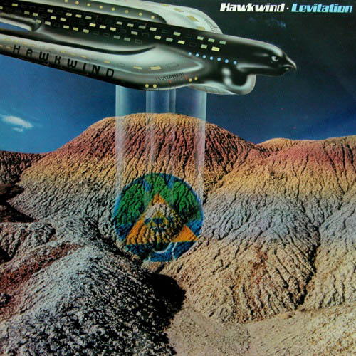 Hawkwind - Levitation  CD (album) cover