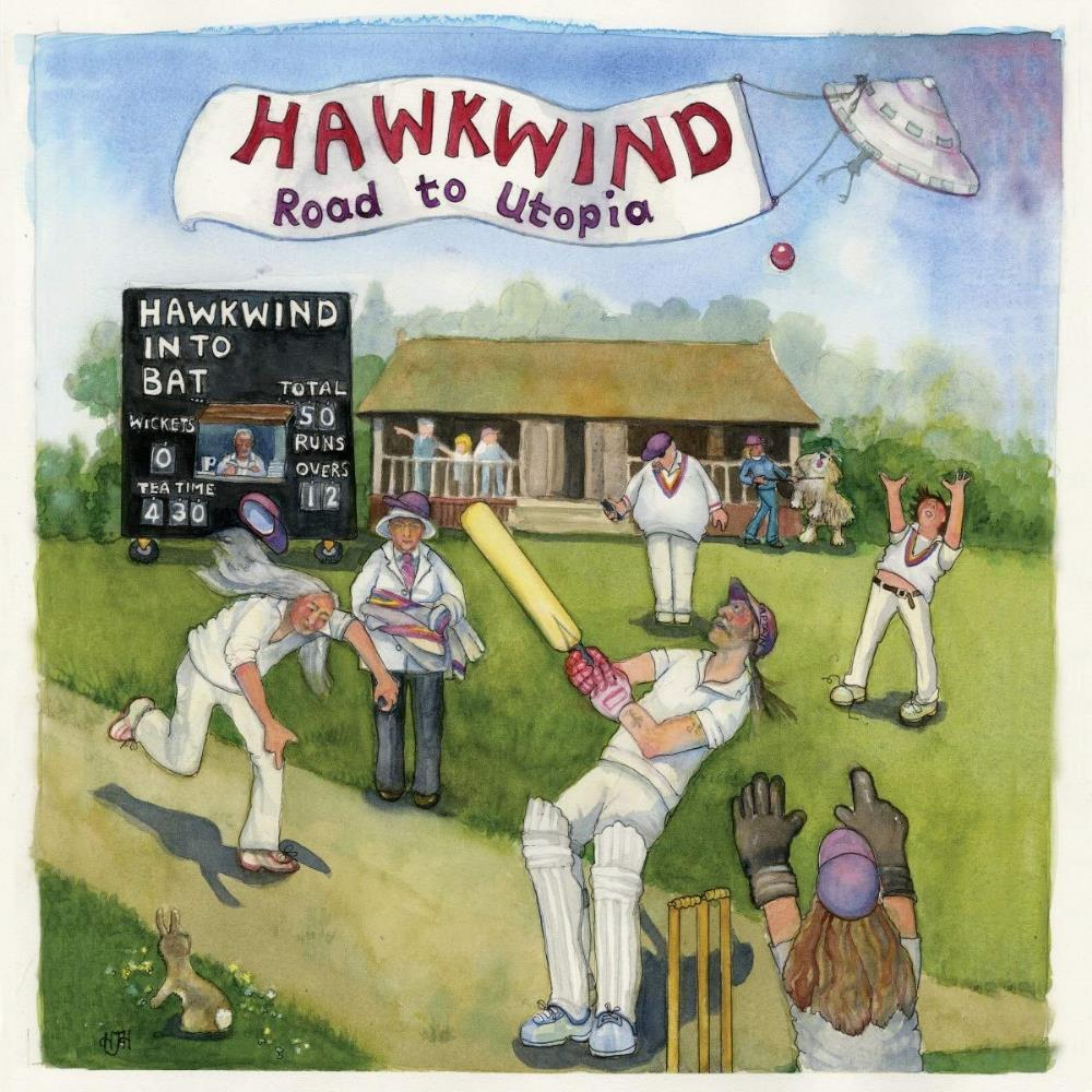 Road to Utopia by HAWKWIND album cover