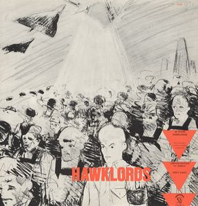 Hawkwind 25 Years EP album cover