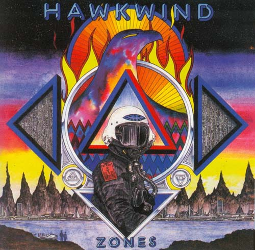 Hawkwind Zones album cover