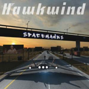 Spacehawks by HAWKWIND album cover