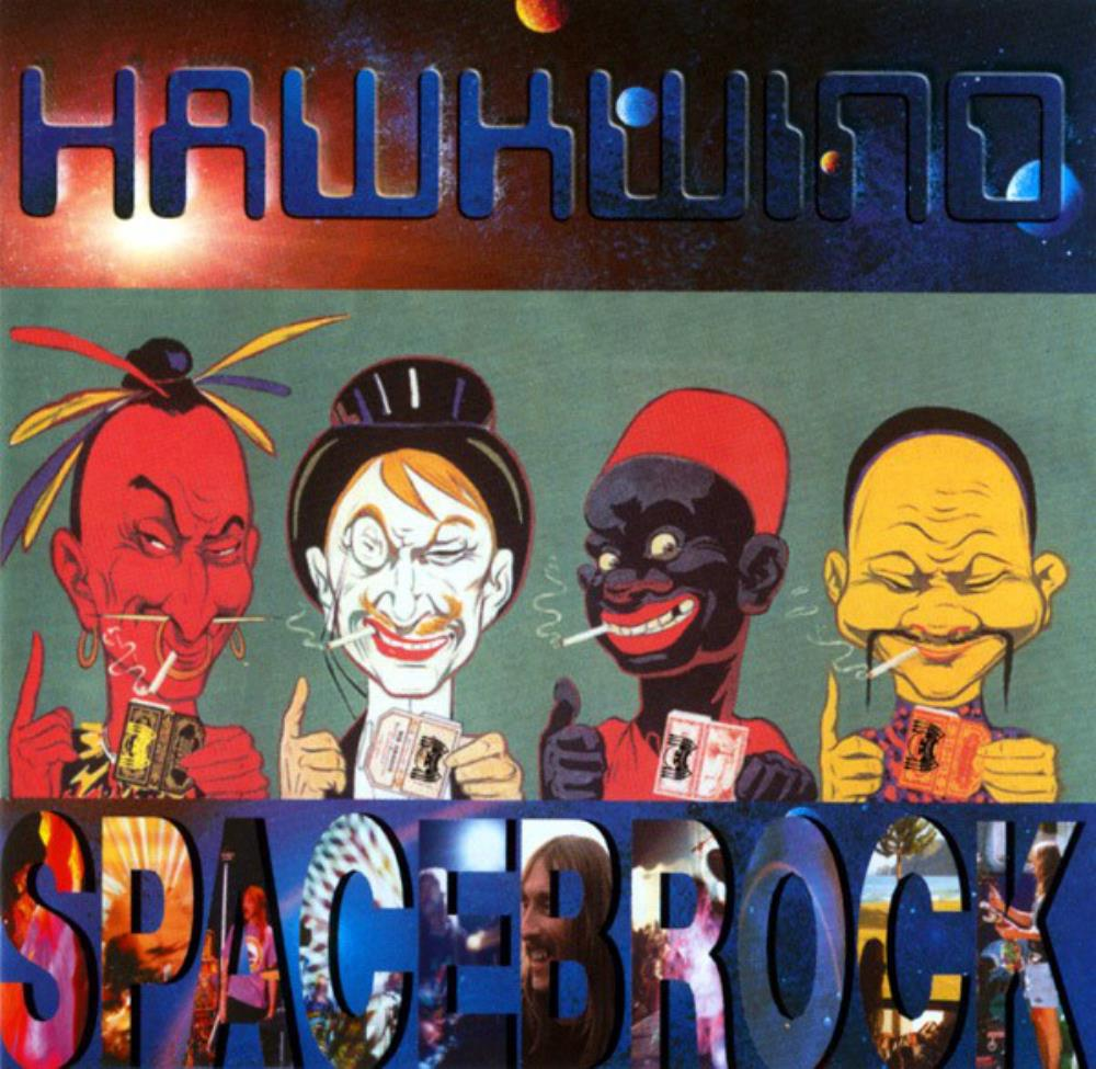 Hawkwind Spacebrock album cover