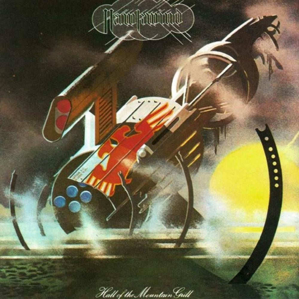 Hawkwind Hall Of The Mountain Grill album cover