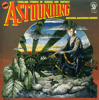 Hawkwind Astounding Sounds, Amazing Music album cover