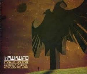 Hawkwind Parallel Universe: A Liberty/U.A. Years Anthology 1970-1974 album cover