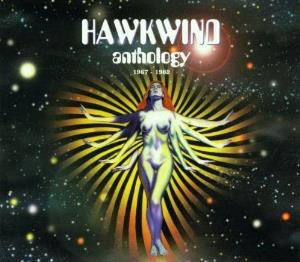 Hawkwind Anthology 1967-1982 album cover