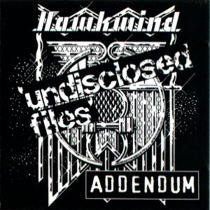 Hawkwind - Undisclosed Files - Addendum CD (album) cover