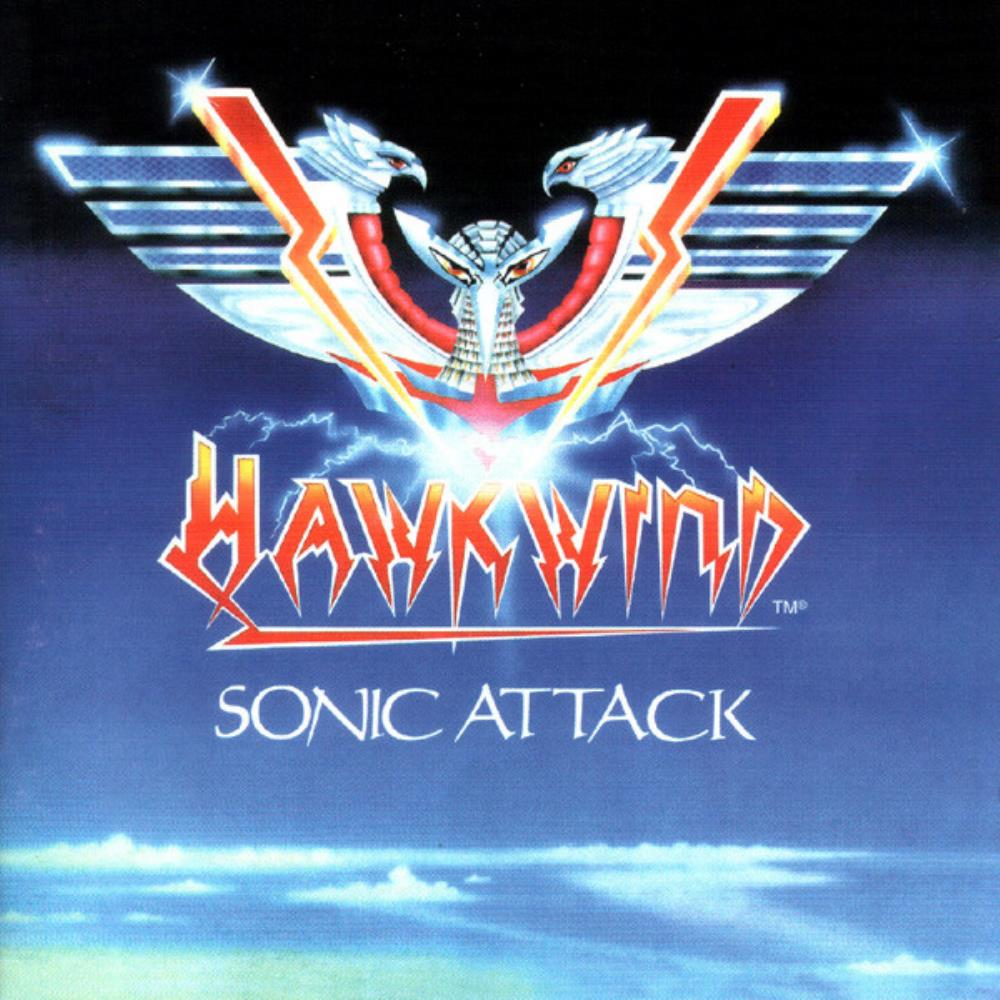 Hawkwind Sonic Attack album cover