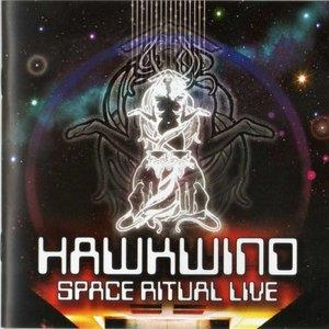 Hawkwind - Space Ritual Live CD (album) cover