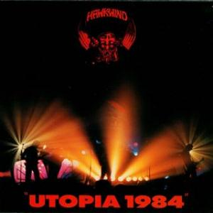 Hawkwind Utopia 1984 album cover