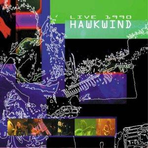 Live 1990 by HAWKWIND album cover