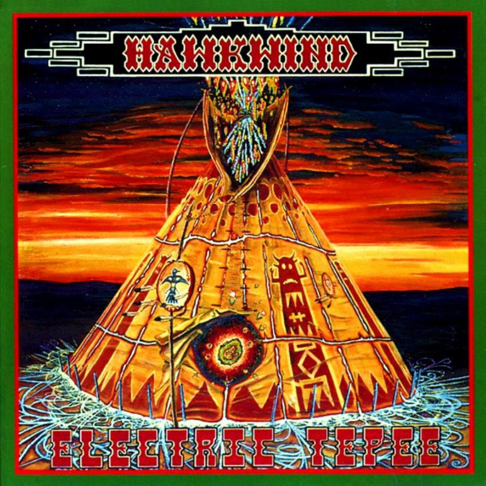 Hawkwind Electric Tepee album cover