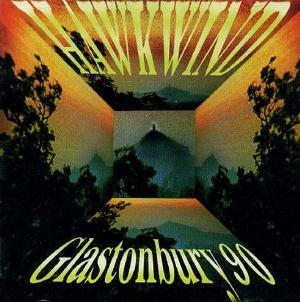 Hawkwind Live at Glastonbury 90 album cover