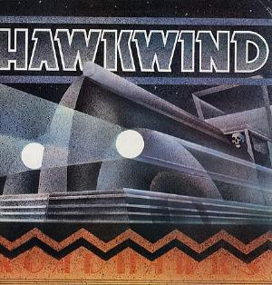 Hawkwind Roadhawks album cover