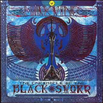 The Chronicle Of The Black Sword by HAWKWIND album cover