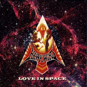 Hawkwind Love in Space album cover