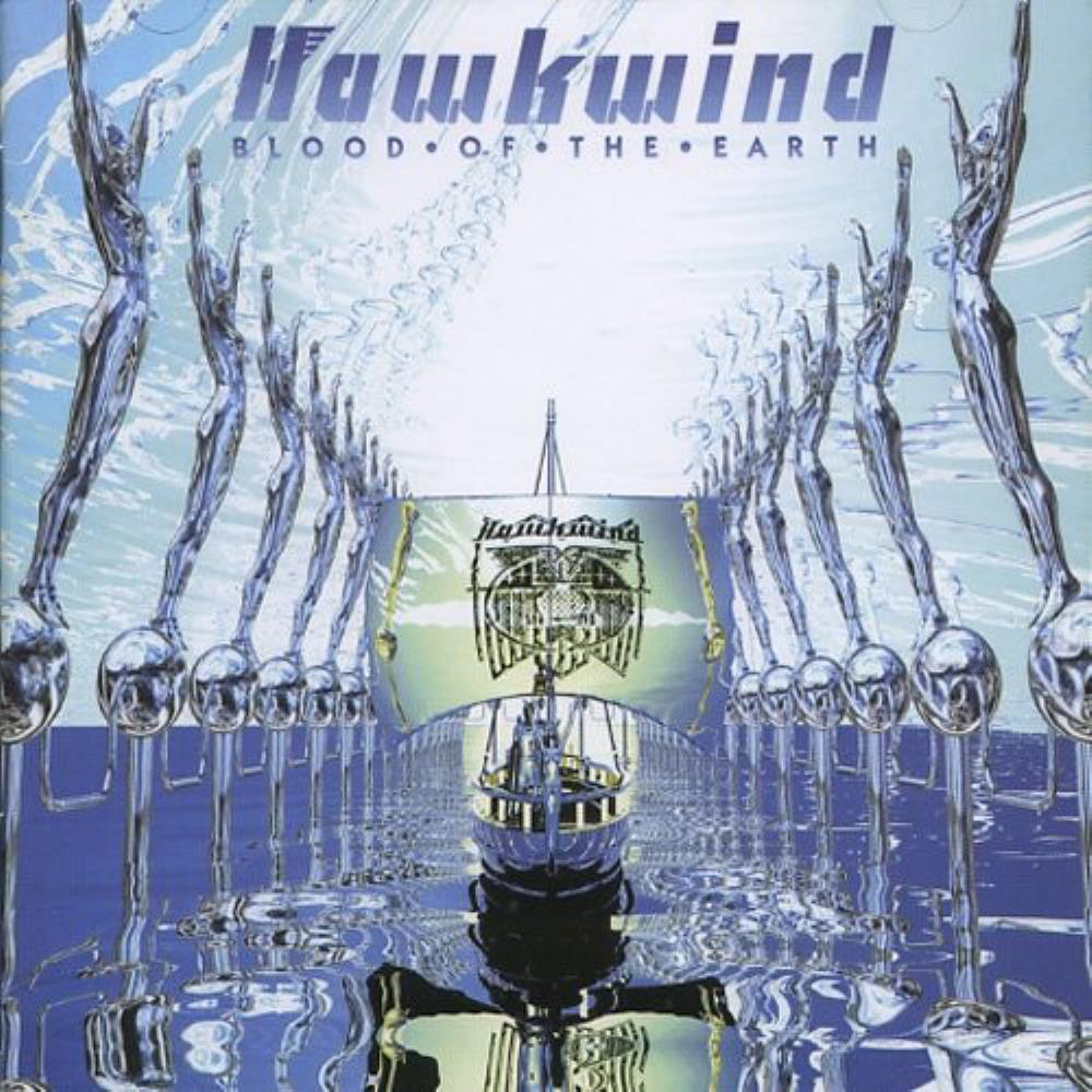 Hawkwind - Blood Of The Earth CD (album) cover
