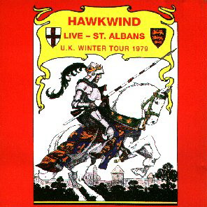 Hawkwind Live - ST.Albans U.K. Winter Tour 1979 album cover