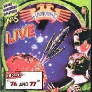 Hawkwind The Weird Tapes Vol. 5 : Live '76 & '77 album cover