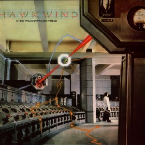 Hawkwind Quark, Strangeness And Charm album cover