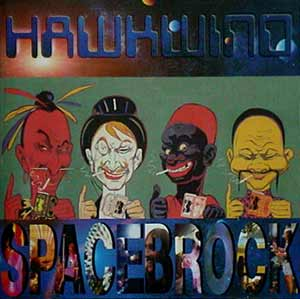 Hawkwind - Spacebrock CD (album) cover