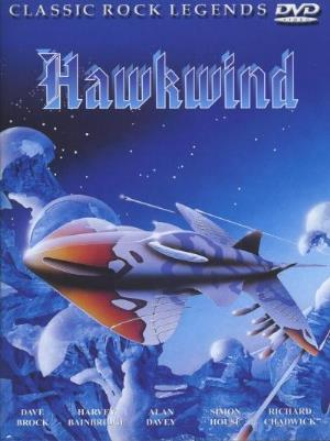 Hawkwind Classic Rock Legends (DVD) album cover