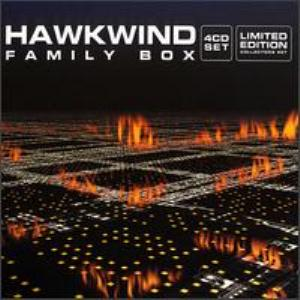 Hawkwind Family Box 4CD SET Limited Edition Collector's Set album cover