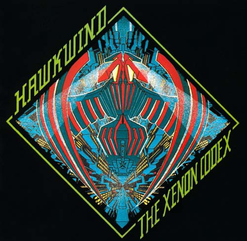 The Xenon Codex by HAWKWIND album cover