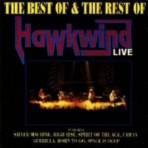 Hawkwind - The Best of & The Rest of Hawkwind CD (album) cover