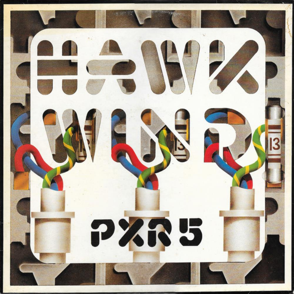 Hawkwind - PXR 5 CD (album) cover