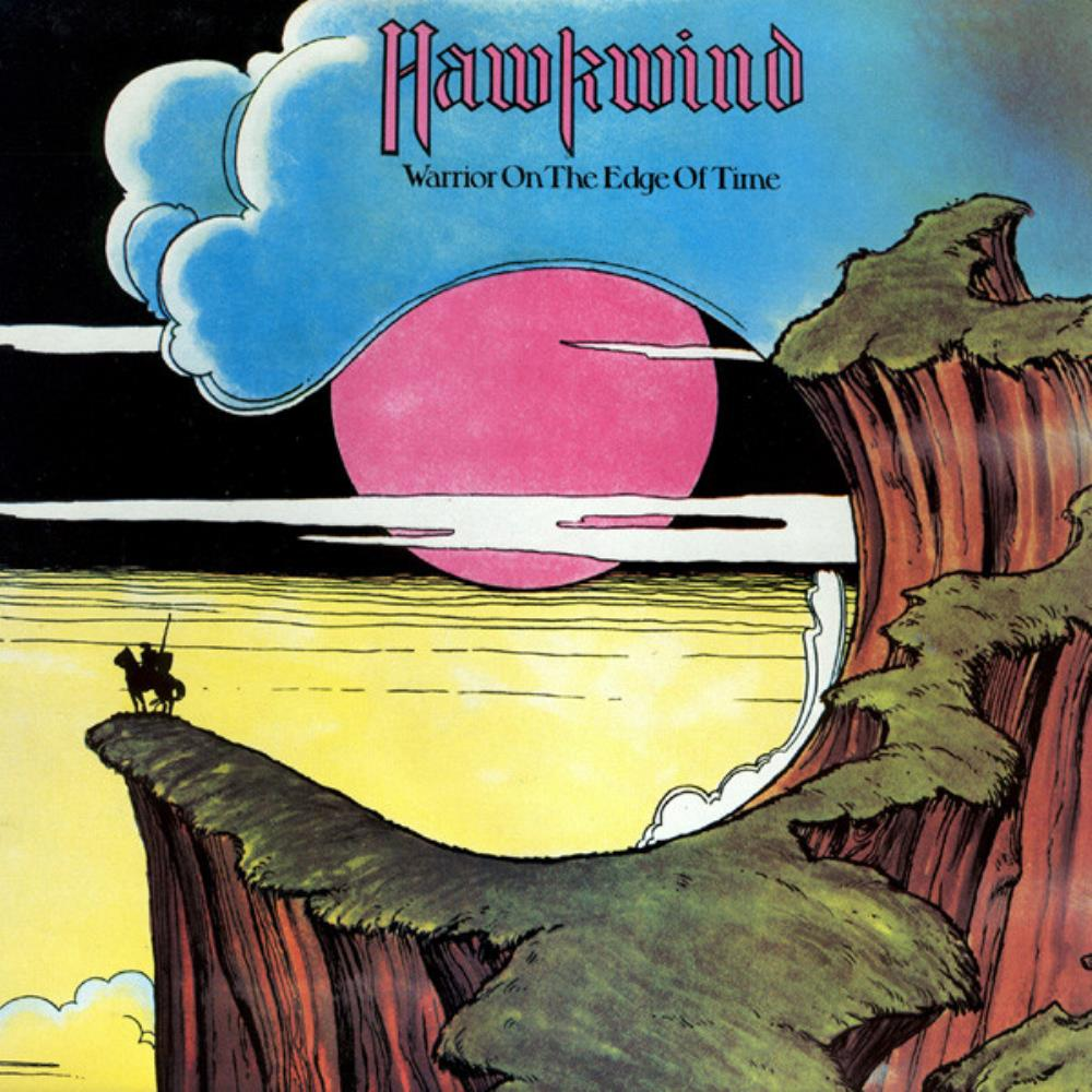 Hawkwind Warrior On The Edge Of Time album cover