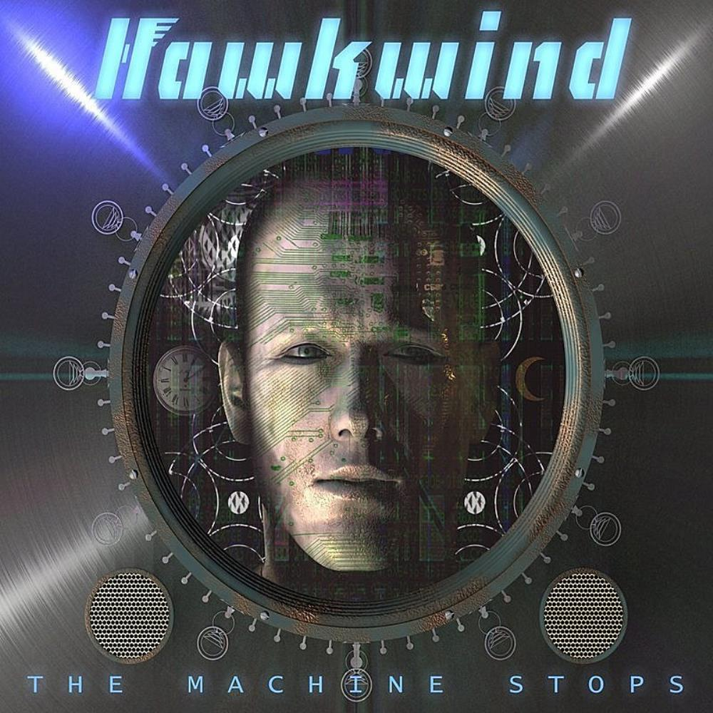 Hawkwind The Machine Stops album cover