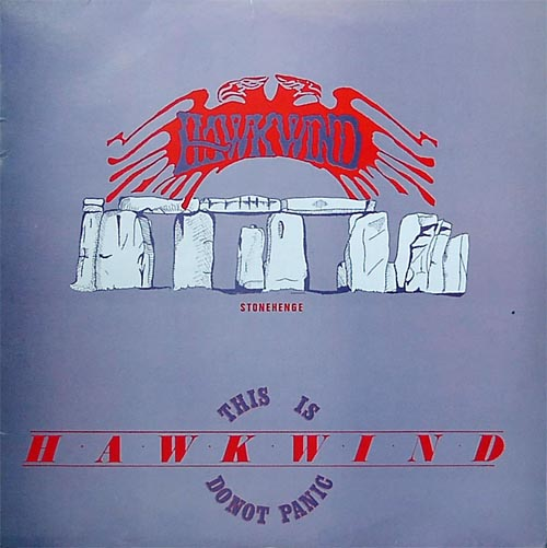 Hawkwind - This is Hawkwind - Do Not Panic CD (album) cover