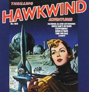 Hawkwind Thrilling Hawkwind Adventures album cover