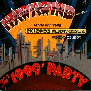 Hawkwind The 1999 Party album cover