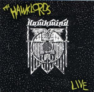 Hawkwind The Hawklords Live album cover