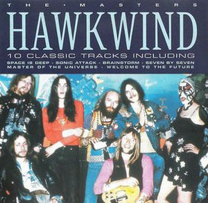 Hawkwind The Master album cover