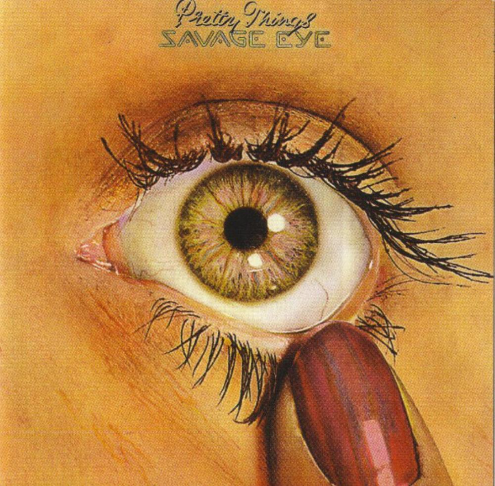 Savage Eye by PRETTY THINGS, THE album cover