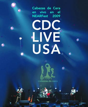 CDC Live USA by CABEZAS DE CERA album cover